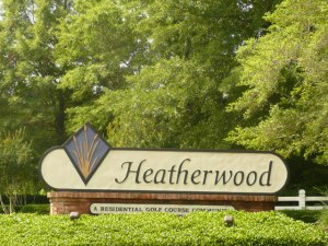 Heatherwood Entrance